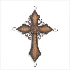 Old World Cross Decor