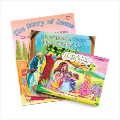 Children's Biblical Activity Books