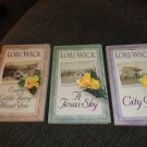 Lori Wick 3 books The Yellow Rose Trilogy