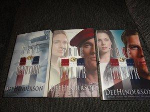 Dee Henderson 3 books Uncommon Heroes