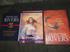 Francine Rivers 3 bks Atonement Child, Shofar, Redeeming Love