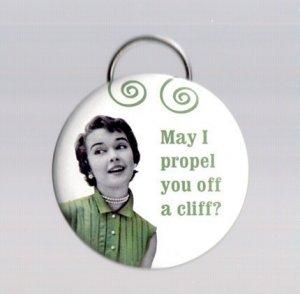 Propel Off Cliff Key Chain/Bottle Opener