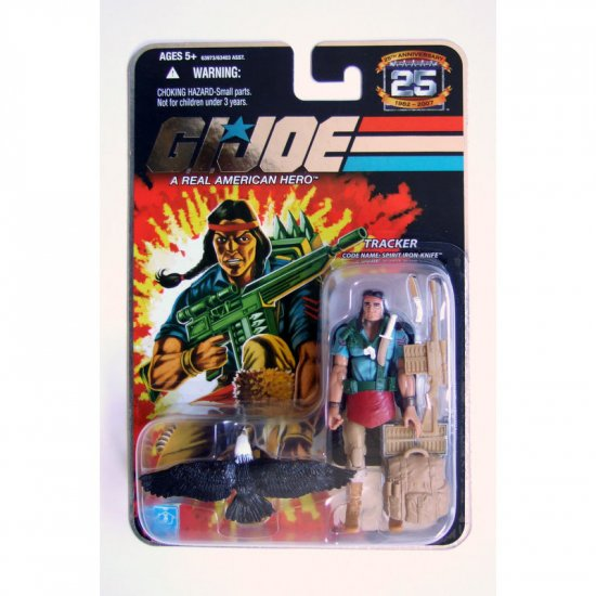 GI JOE 25th Anniversary Wave 7 Spirit New