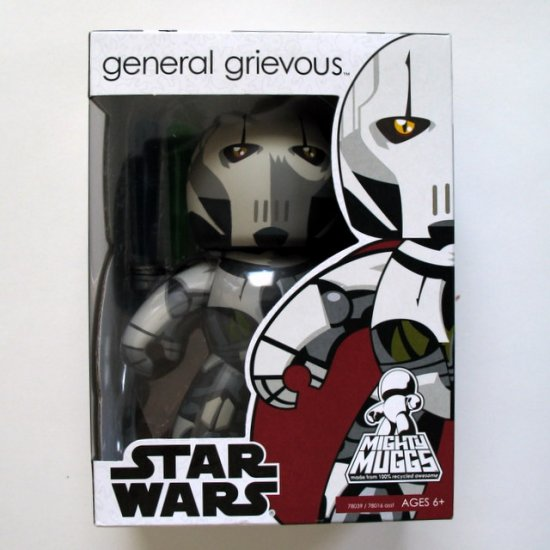 Star Wars Mighty Muggs General Grievous Brand New