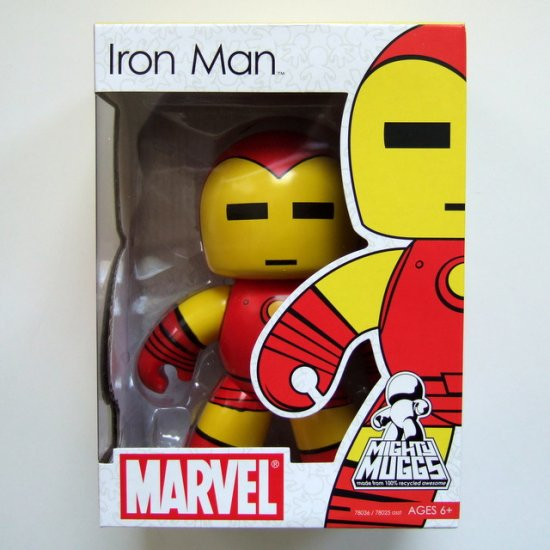 Marvel Mighty Muggs Iron Man Brand New MISB