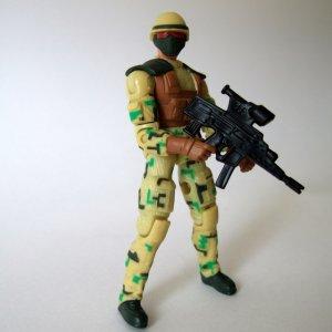 gi joe spy troops 2003 red spot mint complete