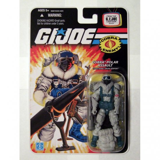 GI JOE 25th Anniversary Wave 9 Snow Serpent New