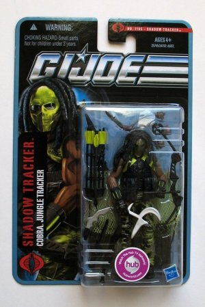 G.I. Joe Pursuit of Cobra Wave 4 Shadow Tracker Brand New 1105