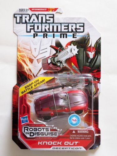 Transformers Prime Knock Out RID Robot in Disguise Deluxe Class Brand New MOSC