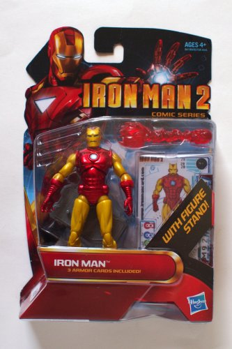 Iron Man 2010 Comic Series Mark II Proto-Armor #28 3.75 Inch Brand New