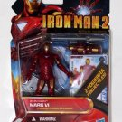 "Iron Man 2010 Movie Series Iron Man Mark VI #10 3.75"" Brand New Hasbro"