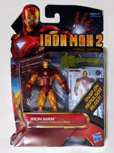 "Iron Man 2010 Comic Series Iron Man Oversize Mark XIV #30 3.75"" Brand New"