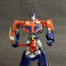 Transformers Animated Deluxe Optimus Prime Loose Complete Mint Hasbro