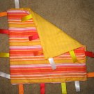 Orange taggies for baby - crib toy