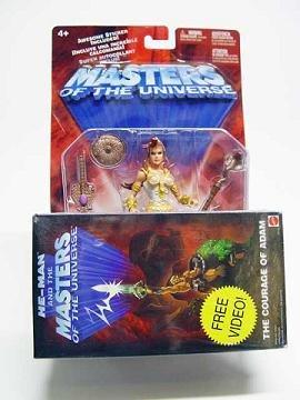 He-Man Motu Teela (1st Issue) 200x Modern Classics Afa MOC, Mattel Masters of the Universe