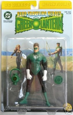 Green Lantern Classic Neal Adams Arrow Team-Up DC Direct Power Battery Ring Prop Set Blackest Night