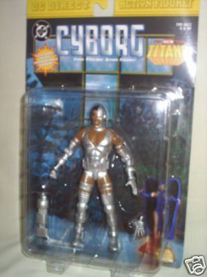 "DC Direct Cyborg, Teen Titans 6"" Figure/Classic Perez/Superman/Super Powers Universe"