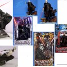 Star Wars Saga Unleashed Lot Statue Figure Set ROTS AOTC Sith