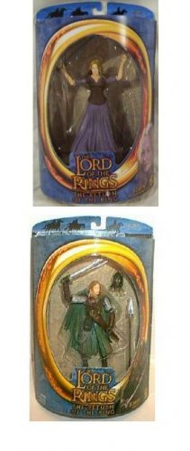 Lord of the Rings LOTR Eowyn Toy Biz Action Figure Set MOC