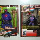 "Cobra Commander 12"" Figure G.I. Joe 1/6 Scale 2001 2002 Hasbro, Sideshow Hot Toys"