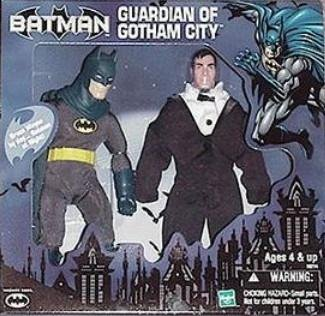 "DC Mego 8"" Bruce Wayne Batman Collectible Figure Doll WGSH Target (New Sealed)"