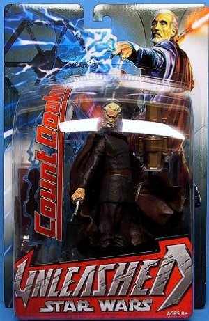 "Star Wars Unleashed Count Dooku-Darth Tyranus-1/10 Statue [Artfx] | Hasbro 6"" Black Series"