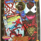 "Marvel Carnage Famous Cover Spider-Man Mego Retro 8"" Doll Figure ToyBiz MISB"