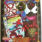 "Carnage PX Spider-Man Marvel 8"" Mego Famous Cover (Venom) action figure doll"