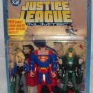 DC JLU Black Canary Superman Green Arrow + Comic | Justice League Unlimited 3-Pack, TAS Mattel 2005