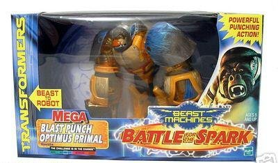 Optimus Primal Prime, Transformers Beast Wars/ Machines MISB (Mega Blast Punch)