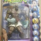 "Street Fighter Alpha Sagat (White Trunks) Video Game Figure 8"" ReSaurus R2 Capcom SOTA MOC"