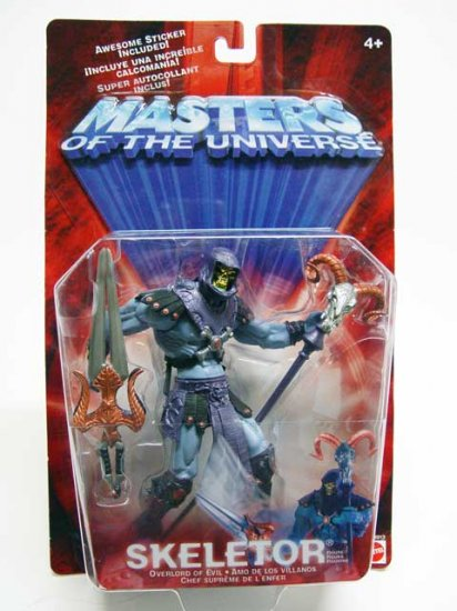 He-Man/Masters Universe 200x Skeletor MOC Modern Classic Mattel 2001 Vintage