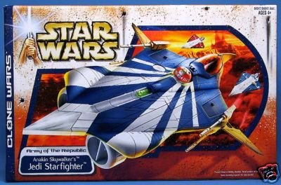 Anakin Skywalker's Modified Jedi Starfighter Vehicle, Star Wars: TCW Clone Wars Target Exclusive