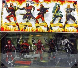 GI Joe 25th Cobra Resolute Collector 5 Pack Set Hasbro 2008 MISB