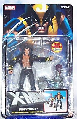 X-Men Classics Wolverine Logan in Jacket Marvel Legends 6in Sentinel Attack 2004 Toybiz MOC