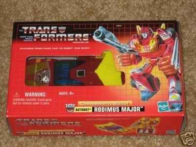 Transformers G1 Hot Rod Rodimus Prime AFA MISB Vintage Classic TRU Reissue Car