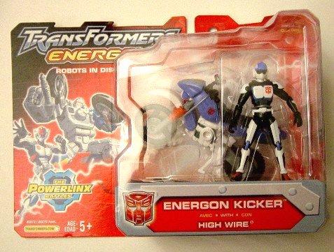 Energon Powerlinx Kicker Transformers Superlink | Microman 1:18 Scale Figure