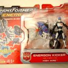 "Hasbro Energon Powerlinx Kicker | Transformers Superlink | 2004 Microman 3.75"" Figure"