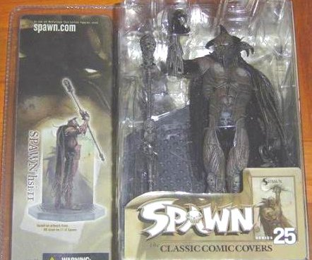 2004 McFarlane Variant Raven Spawn 2 (Hellspawn) > Series 25 hs i.11 Walmart Exclusive [Ashley Wood]