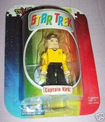 Star Trek Minimates: Capt Kirk Target Exclusive Art Asylum Diamond DST Toys {Kubrick Lego}