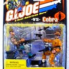 "Gi Joe Cobra 20th Anniversary 2002 Tomahawk and Headman Comic Pack 57470 Hasbro arah 3.75"" 1:18"