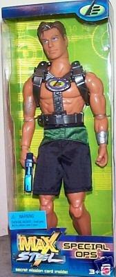 """Mattel Toy Max Steel Special Ops Agent Figure Doll 12"""" Big Jim GI Joe 1:6 MISB"""
