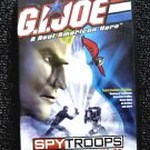 GI Joe vs Cobra SpyTroops: The Movie (2003 DVD Animation, New Sealed OOP) Hasbro Real American Hero