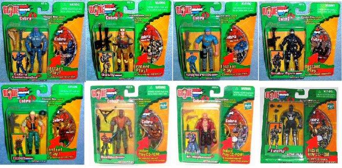 Gi Joe Cobra 2003 Mission Disc lot 8 w/cd-rom dvd-Marvel Sunbow Animation