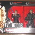 Star Wars Evolutions: Legacy 3-Pack 30th Anakin to Darth Vader ROTS Sith Deluxe Box Set, Hasbro '06