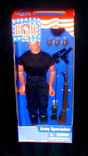 """GI Joe Army Specialist 12"""" action figure 1/6 Hasbro 2002 Target Exclusive Doll"""