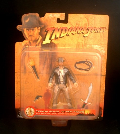 "Disney Indiana Jones 20th Raiders Disneyland 2001 Kenner/Hasbro Rotla (Harrison Ford) 4"" Figure"