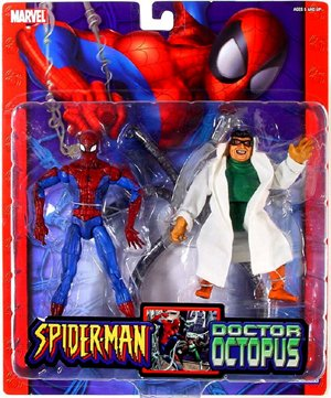 Spider-Man Vs. Doctor Octopus Doc Ock Marvel Legends Select Toy Biz 2004 Action Figures Set