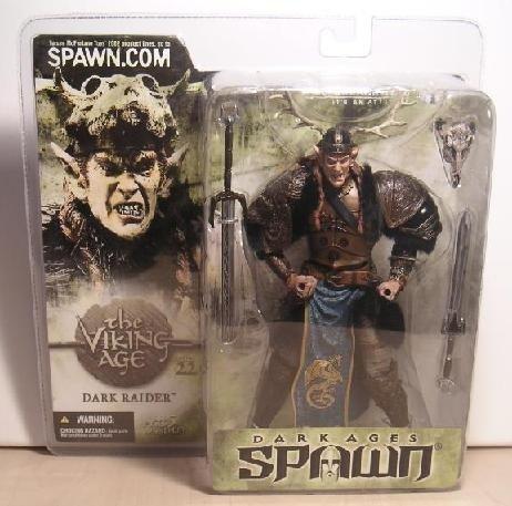 "McFarlane Toys 11265: Spawn Series 22 > Dark Ages: The Viking Age - Dark Raider 6"" AF"