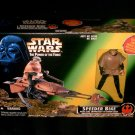 Speeder Bike with Luke Variant Vintage Star Wars POTF Vehicle MISB ROTJ